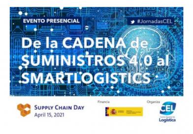 15 Abril: Jornada 'De la cadena de suministro 4.0 al smart logistics', organizada por el CEL.