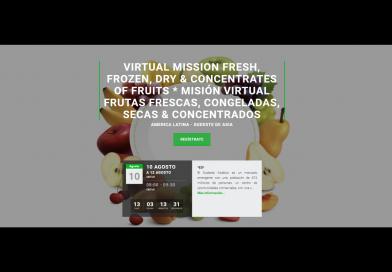 10 al 20 de agosto: Misión Virtual para exportadores de frutas de Latinoamérica que buscan ingresar al Sudeste Asiático