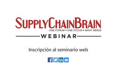 27 de octubre: seminario sobre digitalización, optimización y automatización de complejas cadenas de suministro